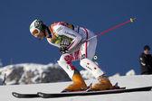FRA: Alpine skiing Val D'Isere men's slalom. PRANGER Manfred. — Stock Photo