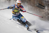 FRA: Alpine skiing Val D'Isere men's slalom. KASPER Nolan. — Stock Photo