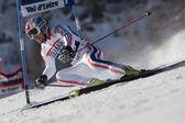 Fra: gs alpino esquí val d ' isere varonil. fanara thomas. — Foto de Stock