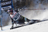 FRA: Alpine skiing Val D'Isere men's GS. SVINDAL Aksel Lund. — Stock Photo