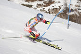 FRA: Alpine skiing Val D'Isere men's slalom. PALANDER Kalle . — Stock Photo
