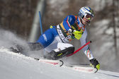 FRA: Alpine skiing Val D'Isere men's slalom. RAZZOLI Giuliano. — Stock Photo