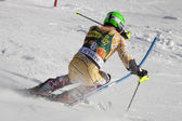 FRA: Alpine skiing Val D'Isere men's slalom. JANYK Michael. — Stock Photo