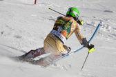 FRA: Alpine skiing Val D'Isere men's slalom. JANYK Michael. — Stock Photo