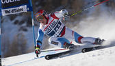 FRA: Alpine skiing Val D'Isere men's GS. CUCHE Didier. — Stock Photo