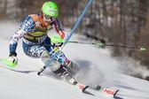Fra: alpine kayak val d'isere'erkekler slalom. ligety ted. — Stok fotoğraf