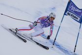 FRA: Alpine skiing Val D'Isere Super Combined. Aurelie Revillet . — Stock Photo