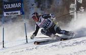 FRA: Alpine skiing Val D'Isere men's GS.HAUGEN Leif Kristian. — Stock Photo