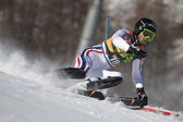 FRA: Alpine skiing Val D'Isere men's slalom. MISSILLIER Steve. — Stock Photo