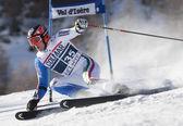 FRA: Alpine skiing Val D'Isere men's GS. EISATH Florian. — ストック写真