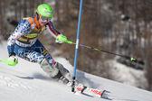 FRA: Alpine skiing Val D'Isere men's slalom. LIGETY Ted. — Stock Photo