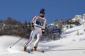 FRA: Alpine skiing Val D'Isere men's GS. GRANGE Jean-Baptiste. — Stock Photo