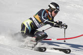 FRA: Alpine skiing Val D'Isere men's slalom. JANSRUD Kjetil. — Stock Photo