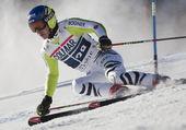 FRA: Alpine skiing Val D'Isere men's GS. NEUREUTHER Felix. — Stock Photo