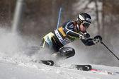 FRA: Alpine skiing Val D'Isere men's slalom. JANSRUD Kjetil . — Stock Photo