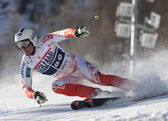 FRA: Alpine skiing Val D'Isere men's GS. SANDELL Marcus. — Stock Photo
