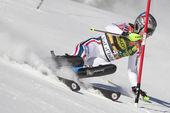 FRA: Alpine skiing Val D'Isere men's slalom. LIZEROUX Julien. — Stockfoto