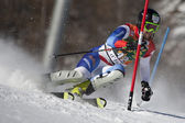 FRA: Alpine skiing Val D'Isere men's slalom. VOGEL Markus. — Stock Photo