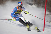 FRA: Alpine skiing Val D'Isere men's slalom. MOELGG Manfred. — Stock Photo