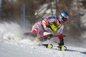 FRA: Alpine skiing Val D'Isere men's slalom. PALANDER Kalle. — Stock Photo