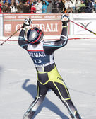 FRA: Alpine skiing Val D'Isere men's GS. SVINDAL Aksel Lund. — Stock Photo