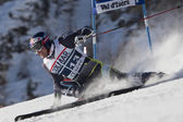 Fra: gs do alpine ski val d'isere men. svindal aksel lund. — Fotografia Stock