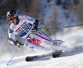 FRA: Alpine skiing Val D'Isere men's GS. REICHELT Hannes. — Stock Photo