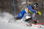 FRA: Alpine skiing Val D'Isere men's slalom. THALER Patrick. — Stock Photo