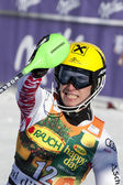 FRA: Alpine skiing Val D'Isere men's slalom. HIRSCHER Marcel. — Stock Photo
