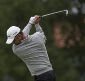 Andrew Coltart (GBR) in action on the third day of the European Tour — Stock Photo
