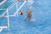 WPO: USA v Macedonia, 13th World Aquatics championships Rome. Merrill Moses. — Stock Photo