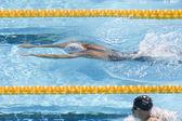 SWM: World Aquatics Championship - mens 200m breaststrokeSWM. Eric Shanteau. — Stock Photo
