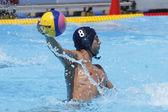 WPO: World Aquatic Championships - USA vs Romania. Alexandru Matei Guiman. — Stock Photo