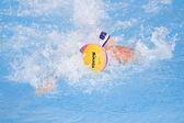 WPO: USA v Macedonia, 13th World Aquatics championships Rome. Brian Alexander. — Stock Photo