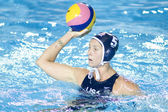 WPO: World Aquatics Championship - USA vs Greece semi final. Lauren Wenger. — Stock Photo