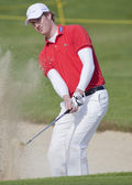 Will Besseling (NED) in action on the first day of the European Tour.Will Besseling. — Stock Photo