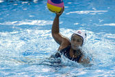 WPO: World Aquatic Championships - USA vs Greece. Brenda Villa. — Stock Photo