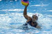 WPO: World Aquatic Championships - USA vs Greece. Brenda Villa. — Stock Photo