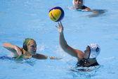 WPO: World Aquatics championship - CAN vs RSA. Whitney Genoway. — Stock Photo