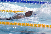 SWM: World Aquatics Championship - mens 400 individual medley, Ryan Lochte. — Stock Photo
