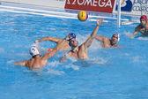 WPO: USA v Macedonia, 13th World Aquatics championships Rome 09. Ronald Beaubien. — Stock Photo