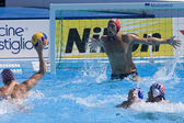 WPO: World Aquatics Championship - USA vs Croatia. Merrill Moses. — Zdjęcie stockowe