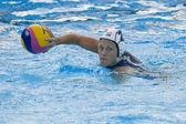 WPO: World Aquatic Championships - USA vs Greece. Heather Petri. — Stock Photo