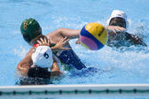 WPO: World Aquatics championship - CAN vs RSA. Joelle Bezhaki. — Stock Photo