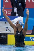 SWM: World Aquatics Championship - womens 1500m freestyle final — Stock Photo