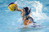 WPO: World Aquatics Championship - USA vs Greece semi final. Kelly Rulon. — Zdjęcie stockowe