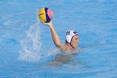 WPO: USA v Macedonia, 13th World Aquatics championships Rome 09.Jesse Smith. — Stock Photo