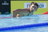 SWM: World Aquatics Championship - Mens 200m freestyle.Michael Phelps — Stock Photo