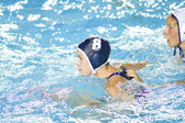 WPO: World Aquatics Championship - USA vs Greece semi final. Jessica Steffens. — Stock Photo