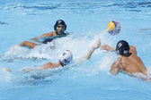 WPO: World Aquatic Championships - USA vs Romania. Jeffrey Powers. — Stock Photo